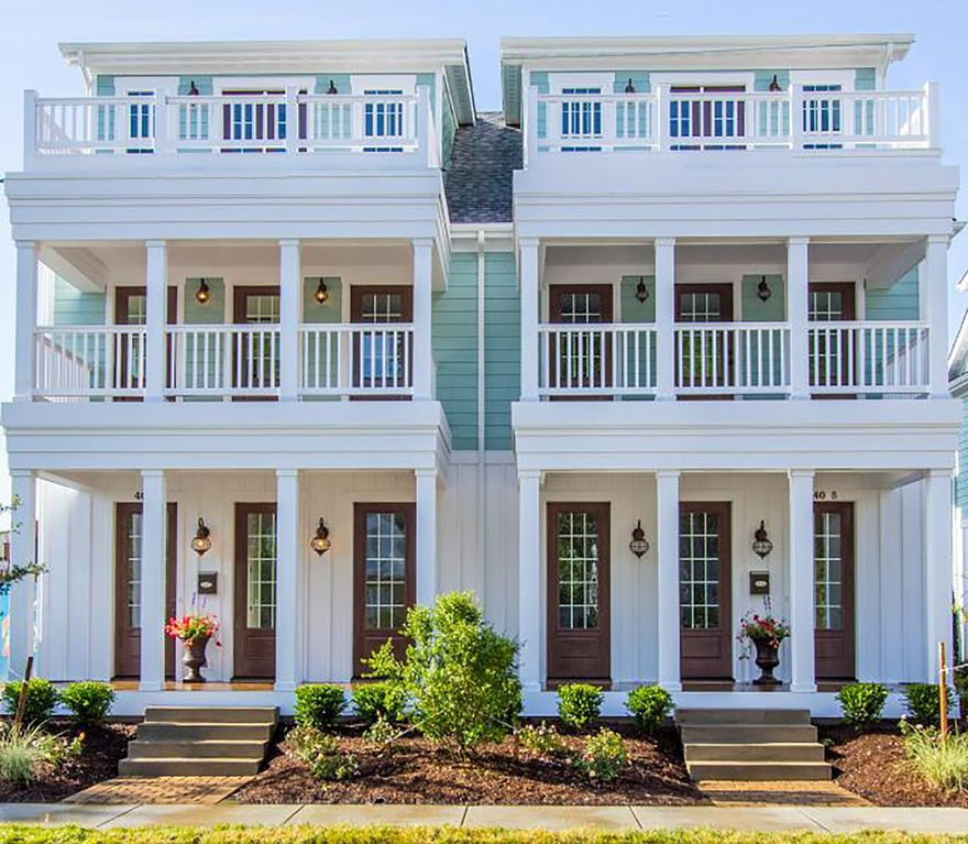 Beautiful, Spacious Townhouse Near The Oceanfront (412B