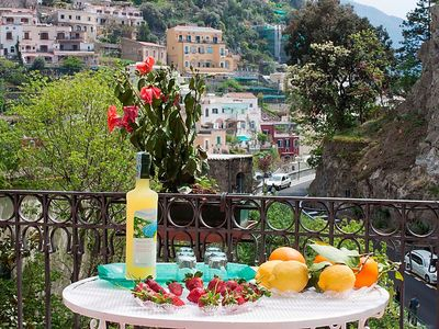 Photo for 3 bedroom Apartment, sleeps 6 in Positano with WiFi