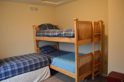 Family Suite Bunk beds  shares bathroom