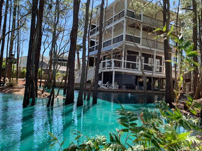 Blue Lagoon at Serenity Retreat