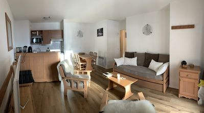 Photo for Apartment 4-6 people in Les 2 Alpes, Isere, France