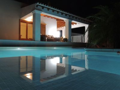 Photo for Warm Holiday Home in Cala Vadella with Private Pool