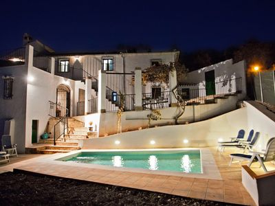Photo for Country House with Private Pool, Landscaped Garden and 3 Terraces