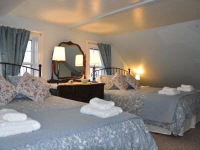Photo for Clothesline B&B, A 158 year old home on the ocean, where old meets new.