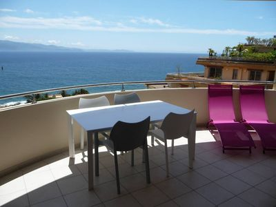 Photo for apartm. 55m2 + Terrace 20 M2 - facing south - exceptional panoramic view