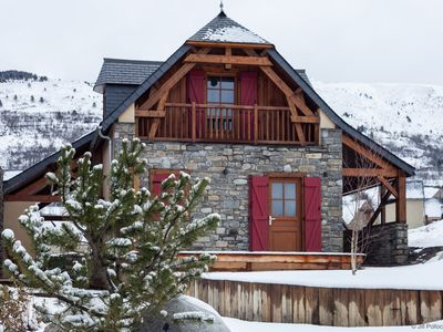 Photo for Chalet of character comfort, & SPA with 360 ° view - Le Pla d'Adet