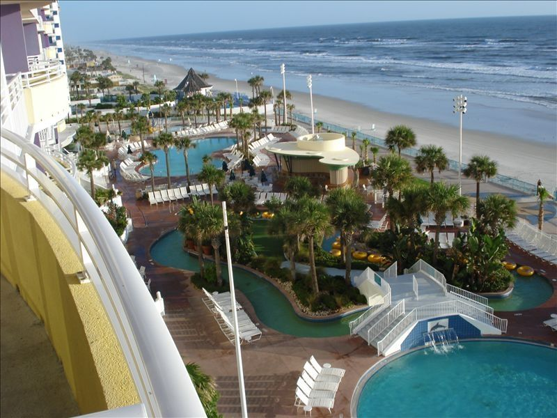 Wyndham Ocean Walk Resort Direct Ocean HomeAway Brush Stewarts - Daytona beach oceanfront house rentals