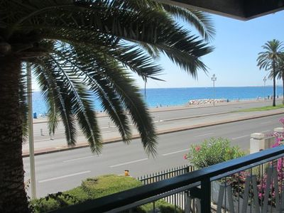 Photo for NICE PROMENADE DES ANGLAIS EXCEPTIONAL PLACE TO STAY SPACIOUS FLAT FOR FOUR PEOP