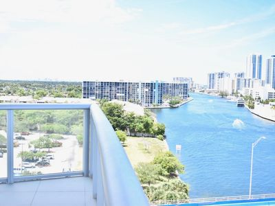 Photo for ☀New GORGEOUS Intracoastal Condo w/ Wrap-Around Balcony☀Beach Shuttle Included!