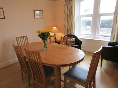 Auld Schoolhouse Dining room