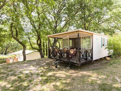 Photo for Camping Chanteraine *** - Mobilhome 5 people - (between 6 and 10 years old)