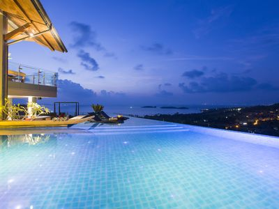 Photo for Villa Skyfall 8BR ocean view w pool