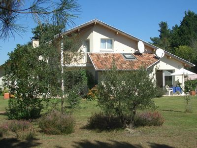 Photo for House in green, only a 10 minute ride from the beach by bike - far from tourism