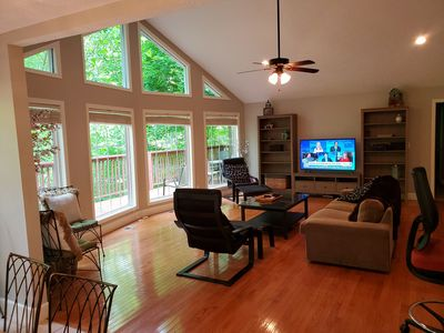 Photo for Up The Creek Cabin - Norris Lakefront Home, 3 miles from I-75 exit 134