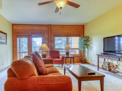 Photo for NEW LISTING! Dog-friendly condo w/ shared hot tub & balcony - close to skiing