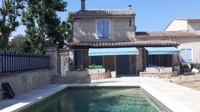 Photo for La Pitchoune, village house with private pool in the heart of the Alpilles