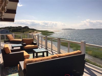 Photo for 3BD Lieutenant Island Waterfront Home--Deck, Spectacular Views, Stairs to Beach
