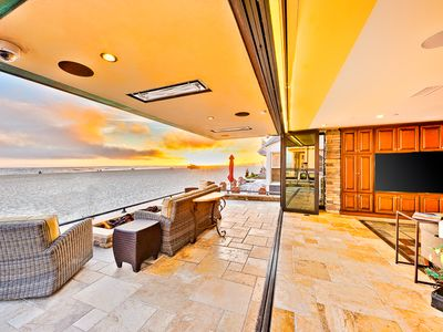 Photo for BEST Beachfront Home in Newport Beach, Rooftop Deck + FirePit