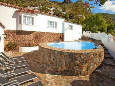 Photo for holiday home Casa Rural La Asomadita, Agaete  in Gran Canaria - 4 persons, 4 bedrooms