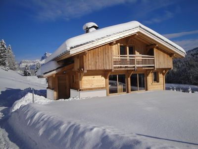 Photo for apartment on the ground floor of a chalet