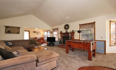 Photo for Moonridge Chalet: Family Retreat w/ Foosball, Ultra-Fast WiFi & Amazon Alexa