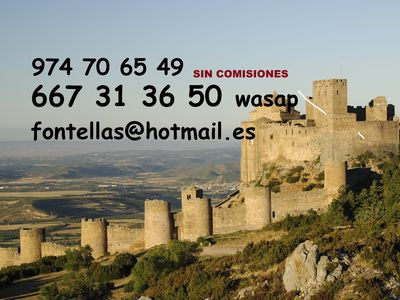 Photo for Tourist Apartments Mallos de Huesca for 2 people