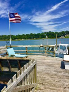 Photo for Family Friendly Waterfront-Private Dock Incl-Fish-Swim-Boat-ICW-Dogs Welcome!!!