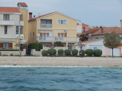 Photo for White Apartment - Apartment First row to the sea.