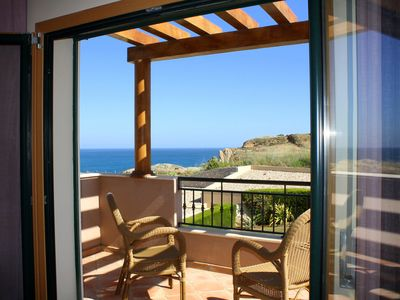 Photo for Fabulous townhouse with full A/C, private pool and close to Burgau Beach.
