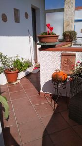 Photo for Central Apartment with Wi-Fi and Terrace; Pets Allowed