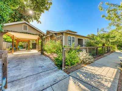 Photo for NEW LISTING! Charming bungalow with private yard & easy access to downtown