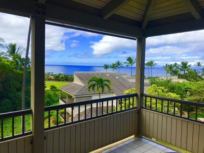 Amazing 180 view from the Lanai.