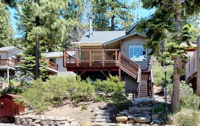 Photo for Tahoe Treehouse Lake View Cabin