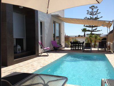 Photo for BEAUTIFUL MODERN VILLA WITH PRIVATE SWIMMING POOL CLOSE TO THE BEACHES AND GOLFS / FREE WIFI