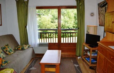 Photo for OREE DES PISTES - 2 rooms cabin - Capacity 6 people