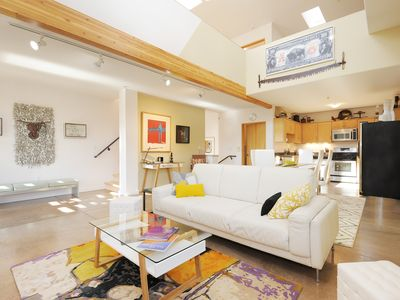 Photo for Mountain views_great location_clean Loft In Santa Fe