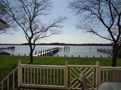 Photo for Rehoboth Beach Vacation Rental - with Private Dock