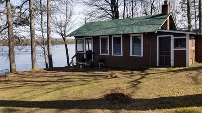 Photo for Pet Friendly Private Cabin on Lake and ATV Route - Cabin 1