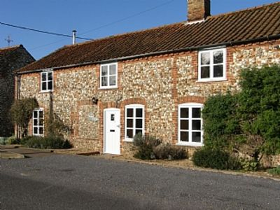 Photo for Traditional Norfolk Brick and Flint Cottage Near Brancaster and Burnham Market
