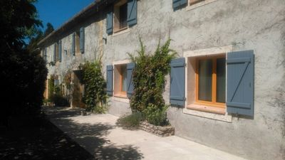 """Photo for Studio for two people in """"Mas des Orchards"""" with garden and pool"""