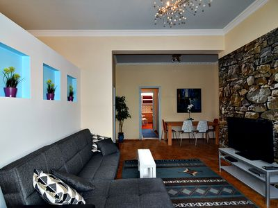 Photo for Eclectic Luxurious Apt In Neo Iraklio, Athens. Up to 14 Guests