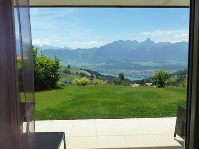 Photo for Apartment Panorama Lodge Goldiwil in Goldiwil (Thun) - 3 persons, 1 bedrooms
