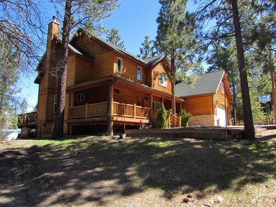 An Upscale Modern Log Home