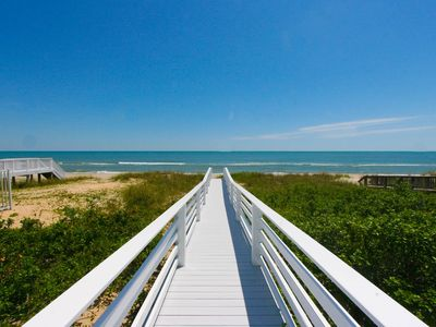 Photo for Ideal for families; Spacious oceanfront beach house just a half mile from the Kure Beach Fishing ...