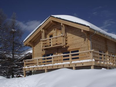 Photo for SUPERB CHALET OF 150 SQM AT THE HEART OF THE STATION AND FOOT OF THE SLOPES