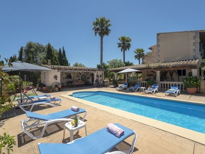 Photo for Manacor Villa, Sleeps 8 with Pool, Air Con and WiFi
