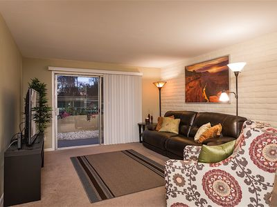 Photo for Parktopia - Great Location! One bedroom ground floor condo in Scottsdale