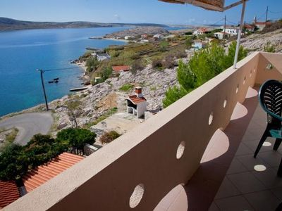 Photo for Apartment Egidio  A9(2+2)  - Zubovici, Island Pag, Croatia