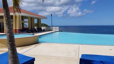 Photo for Beautiful Mediterranean Style Ocean View Villa, Spectacular Sunsets!