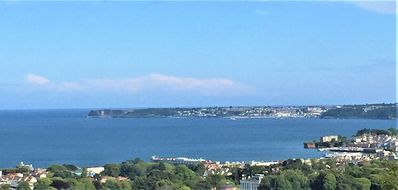 Photo for Spacious 3 bedroom link detached house, panoramic views of Torbay